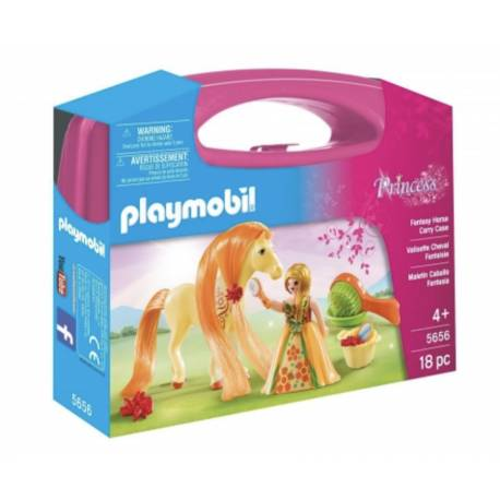 Valisette cheval fantaisie Playmobil