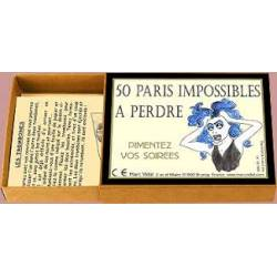 50 paris impossibles à perdre Marc Vidal