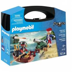 Valisette Pirate et soldat Playmobil