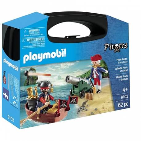 Valisette pirates et soldats Playmobil