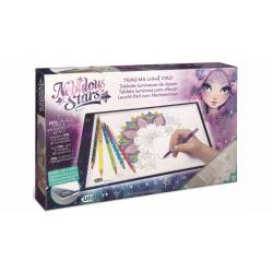 Tablette lumineuse dessin LED Deluxe Nebulous Stars