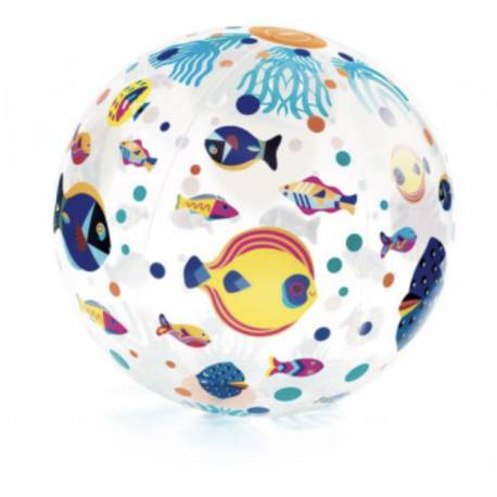 Ballon gonflable Fishes ball Djeco