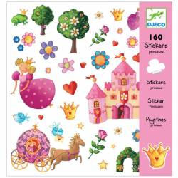160 stickers Princesse Marguerite