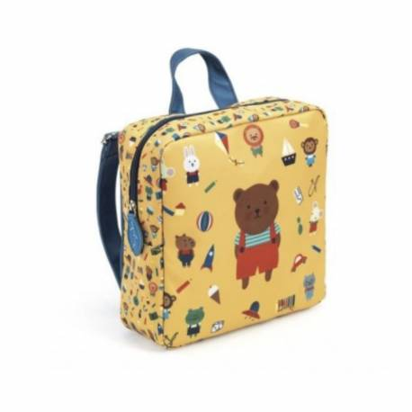 Sac à dos maternelle ours Djeco