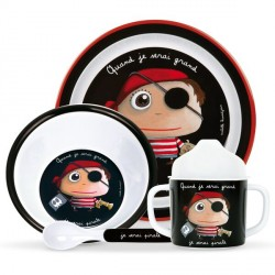 Set melamine pirate