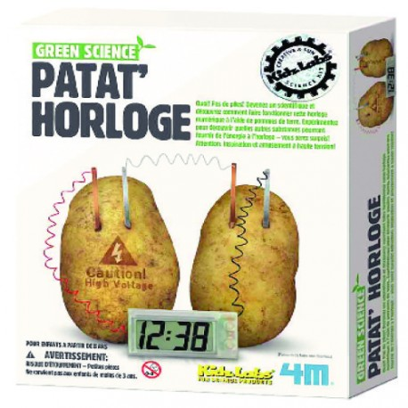 Kidzlabs green science: patat' horloge