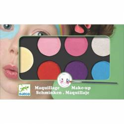 Maquillage palette - 6 couleurs sweet