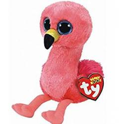 Ty Peluche Beanie boo's Gilda le flamant rose Small 15 cm