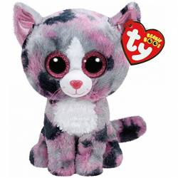 Ty Peluche Beanie Boo's Lindi le Chat Small 15 cm