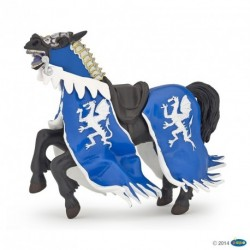 Figurine Cheval du Roi au Dragon bleu