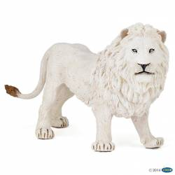 Figurine Lion blanc