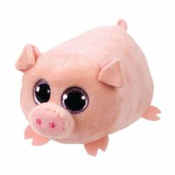 Teeny Ty - Peluche Small Curly le Cochon 8 cm TY41248