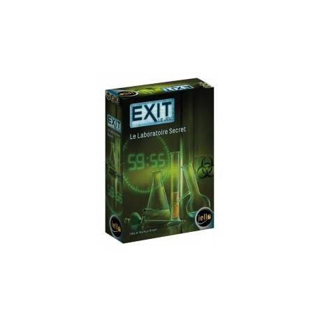 Iello -Exit : Le laboratoire secret REF51438 - Escape Game