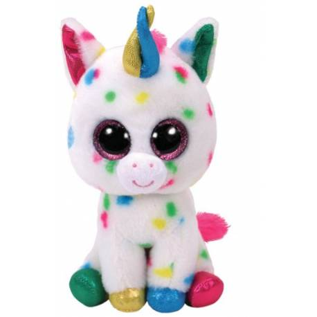ty peluche beanie boo 39 s harmonie la licorne small 15 cm ty36898. Black Bedroom Furniture Sets. Home Design Ideas
