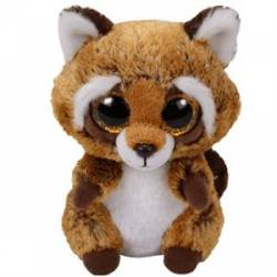 Peluche Ty Beanie Boo's  Small Rustin le raton laveur TY36941