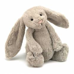 Peluche Lapin Bashful Beige Bunny Medium