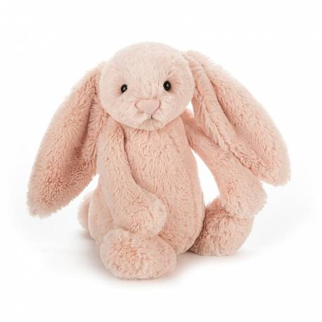 Peluche lapin Bashful Blush Bunny Medium 31 cm BAS3BLU