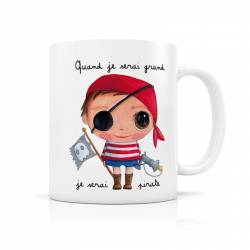 Mug céramique pirate ISAMUG92