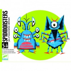 Jeu de cartes Spidmonster