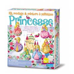 Créa Kit de moulages Princesses