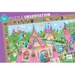Puzzle Princesses - 54 pcs