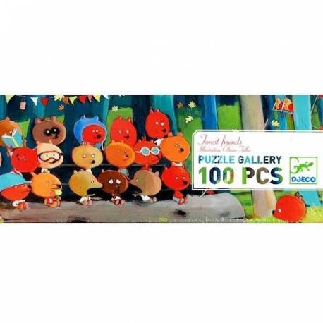 Puzzle gallery Forest friends Djeco DJ07636