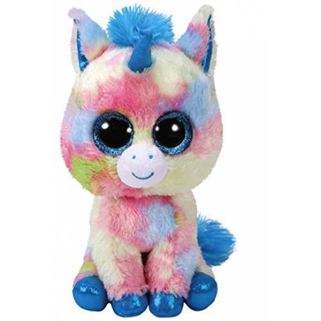 peluche ty beanie boo 39 s blitz la licorne large 40 cm. Black Bedroom Furniture Sets. Home Design Ideas