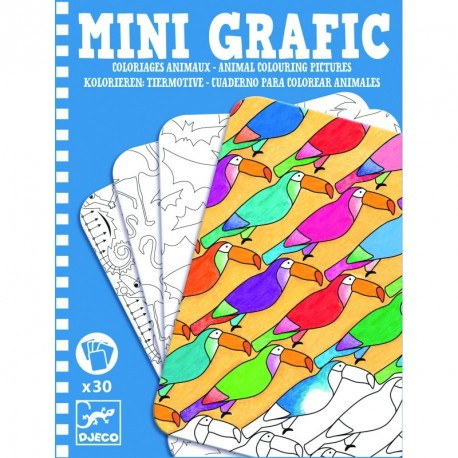 Mini graphic: Coloriages animaux
