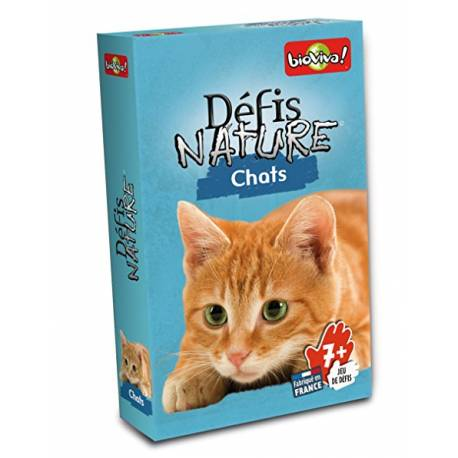 Défis nature Chat Bioviva