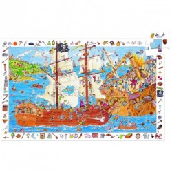 Puzzle Les pirates - 100 pcs