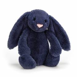 Peluche Lapin Bashful Navy Bunny Small