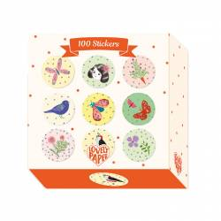 100 stickers chichi Lovely Paper DD03702