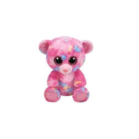 Peluche TY Beanie Boos Franky l'Ours Medium TY36420