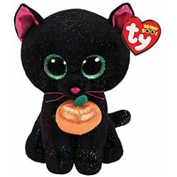 Peluche TY Beanie Boos Potion le Chat noir Medium