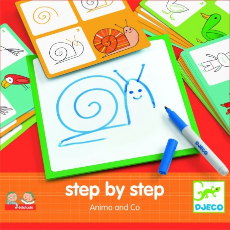 Step by step Animals and co DJ08319