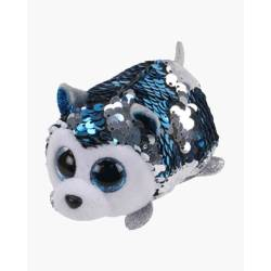 Mini peluche Teeny ty Flippable sequin - slush le chien