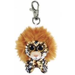 Porte clé Peluche Sequin TY Flippables Regal le Lion
