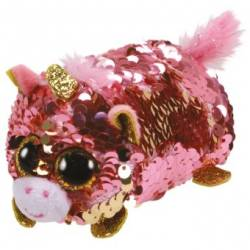 Peluche Teeny ty Sequin - Sunset la Licorne