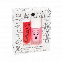 Coffret duo Rollette Fraise + vernis Cookie