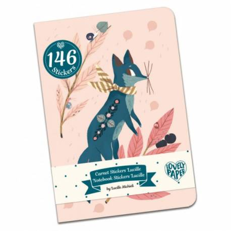 Carnets stickers Lucille Lovely paper Djeco