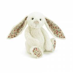 Peluche Blossom Cream Bunny Medium