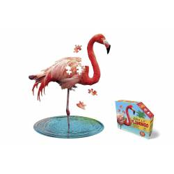 Puzzle i am Flamant rose