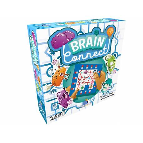 Brain Connect Blue Orange