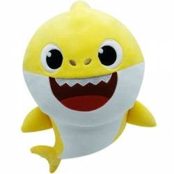 Peluche sonore Famille Shark