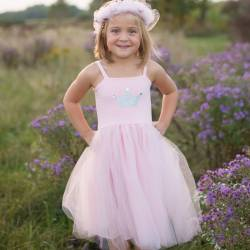 Robe Pretty in pink 3/4 ans