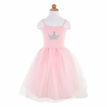 Robe pretty in pink 5/6 ans Great pretenders costume déguisement