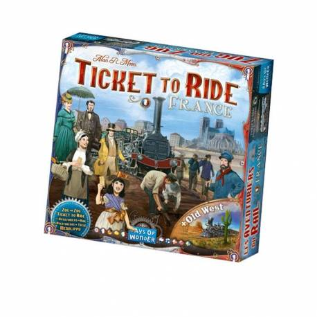 Les aventuriers du rail ticket to ride france days of wonder Asmodee
