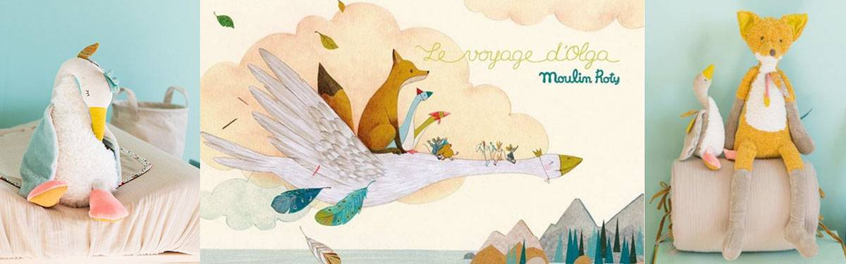 Collection Le voyage d'Olga de Moulin Roty